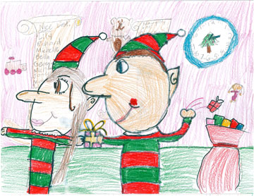 Elves Picture by Jessica!